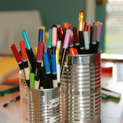 colored pencils in can msb