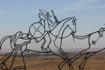 horses running outline (640x427)